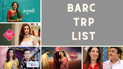 trp of indian serials this week 2021 today