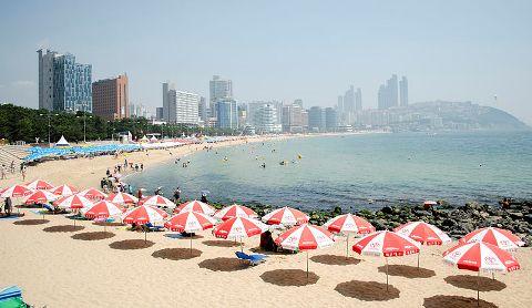 Pantai Haeundae, Busan