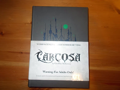 The Ghost without a Shell: RPG Product Review - Carcosa
