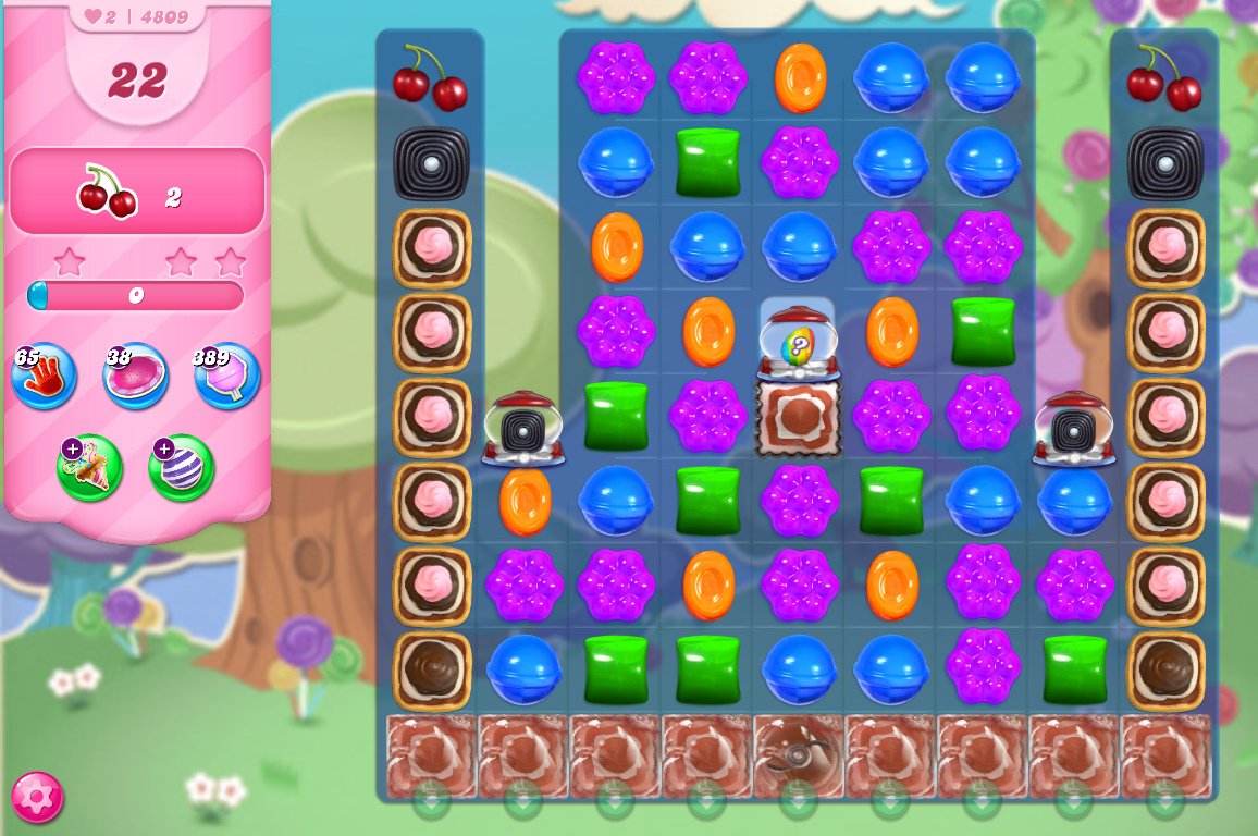 Candy Crush Saga level 4809