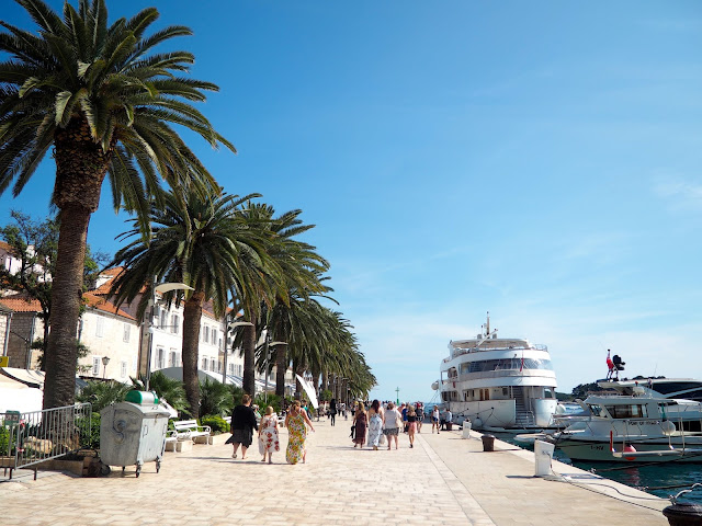 Hvar Town Riva, Hvar, Dalmatian Coast Islands, Croatia