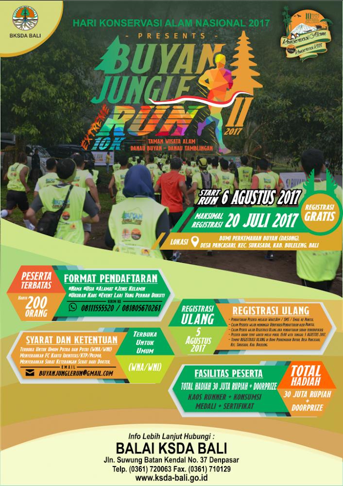Buyan Jungle Extreme Run II • 2017