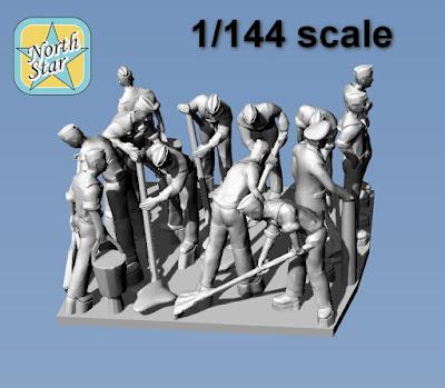 1/144 German Kriegsmarine figures