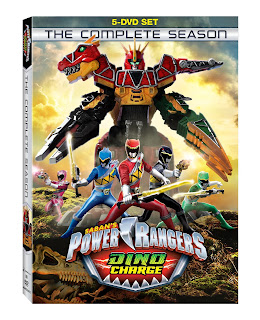 DVD Review - Power Rangers Dino Charge: The Complete Season