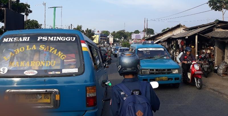 Perjalanan Darat Pertama Kali di pulau Sumatera