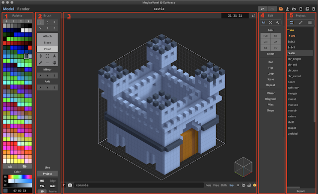 How to Use MagicaVoxel
