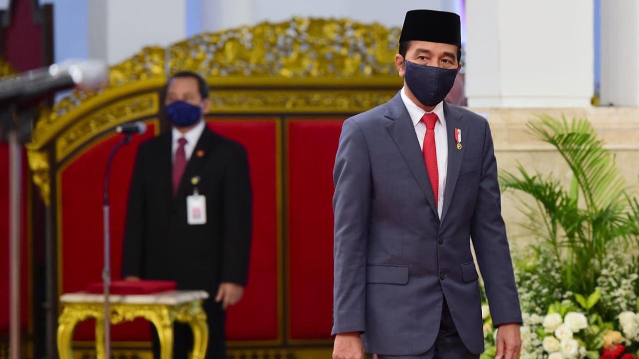 Penyebaran Corona Masih Tinggi, Jokowi Sebut Masyarakat yang Menentukan