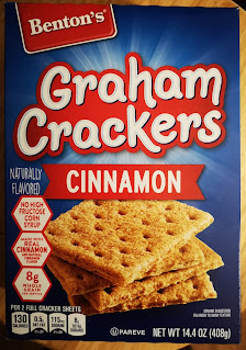 A box of Benton's Cinnamon Graham Crackers, from Aldi
