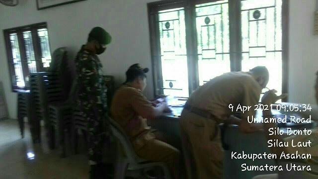 Perbaharui Data, Personel Jajaran Kodim 0208/Asahan Laksanakan Pul Data Ter Diwilayah Desa Binaan