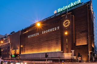 Matt Rakowski Heineken Brewery Amsterdam Picture