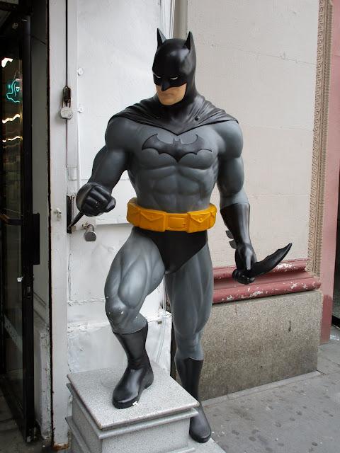 Бэтмен, Нью-Йорк