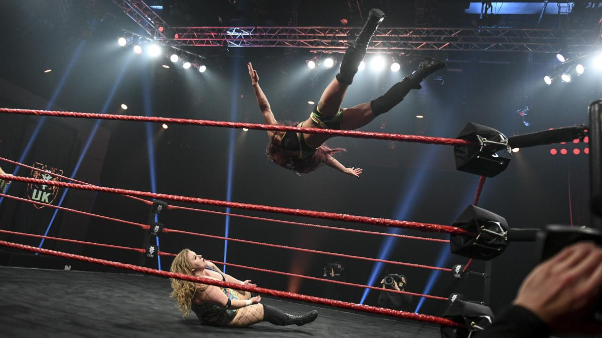Piper Niven and Kay Lee Ray in WWE NXT UK