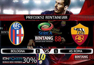 Prediksi Skor Bologna vs AS Roma 22 September 2019