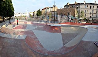 skatepark saint-denis éclairé