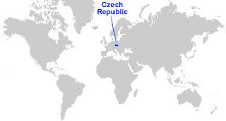 image: Czech Republic Map Location