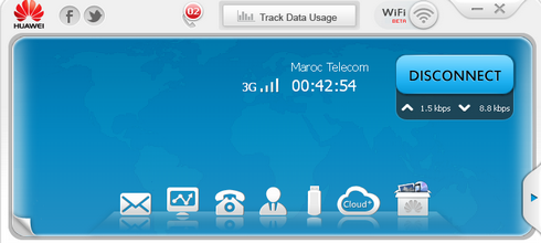 MODEM MAROC LOGICIEL TÉLÉCHARGER TELECOM 3G