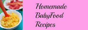 Homemade Babyfood Recipes
