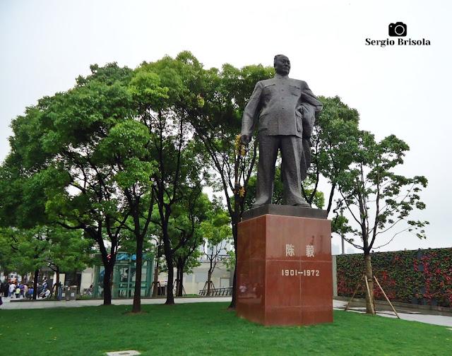 Chen Yi Statue - Shanghai