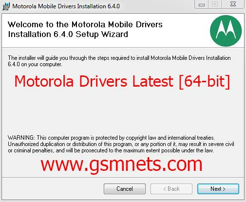 Download Motorola Drivers Latest [64-bit] For Windows
