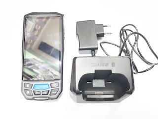 Hape Caribe PL-50L Rugged PDA Android Printer Thermal 2D Barcode Scanner Seken Mulus
