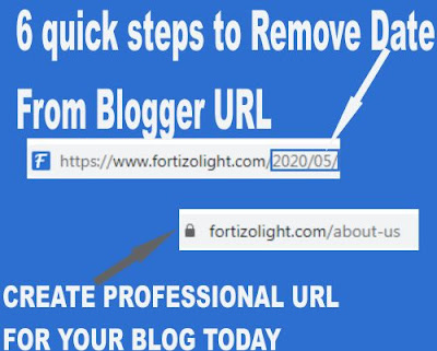 6 Quick Steps To Remove Date From Blog URL