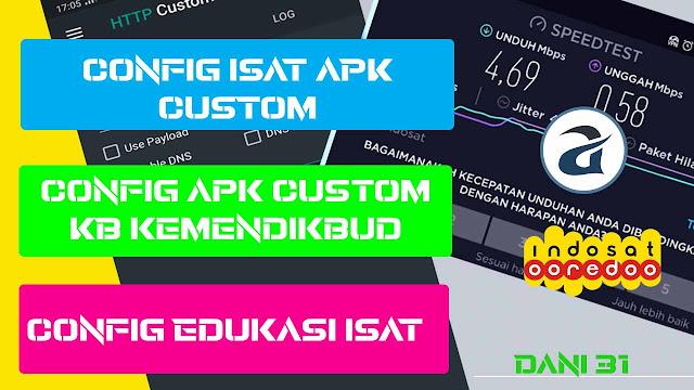config APK Custom terbaru indosat