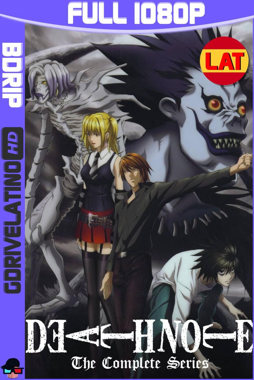 Death Note (2006-2007) Serie Completa BDRip 1080p Latino-Japonés MKV