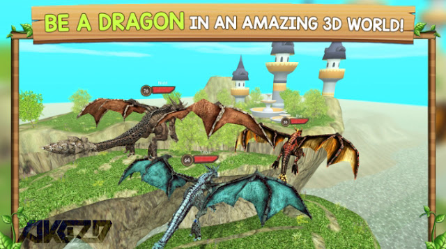 Dragon Sim Online Be A Dragon v4.2 Mod Apk (Mod Money/Unlocked)