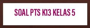 Soal PTS K13 Kelas 5 Tema 1 Gerak Hewan dan Manusia