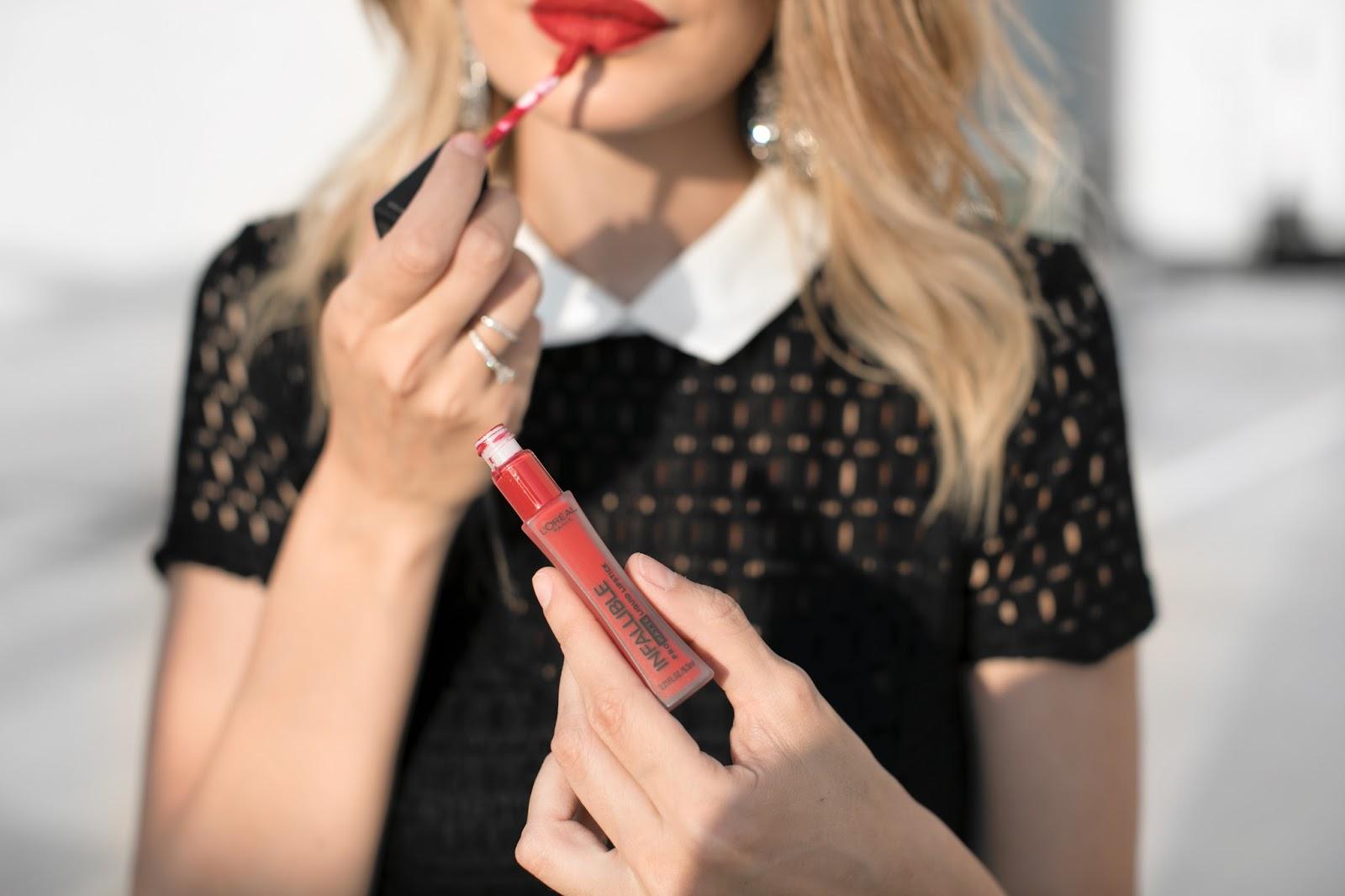 loreal, infallible pro matte liquid lipstick