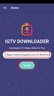 Cara Download Video IGTV