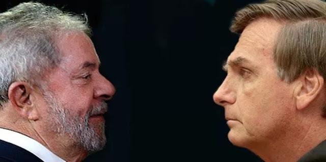 Bolsonaro chama Lula de 'vagabundo', 'malandro' e 'bandido'
