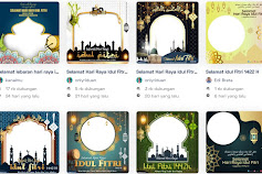 Download 10 Bingkai Twibbon Hari Raya Idul Fitri 1442 H di Twibbonize