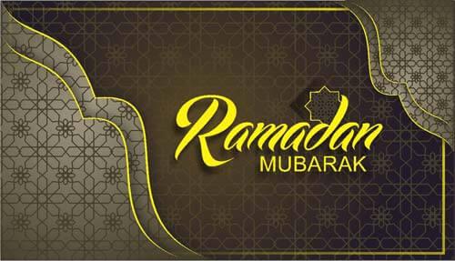 Ramadan Pattern Background Free Vector CorelDraw Design Cdr file Download