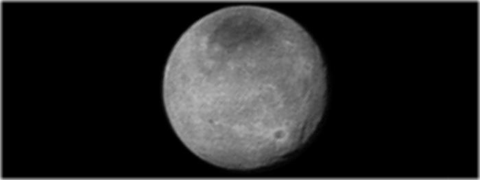 lua de Plutão - Caronte - crateras