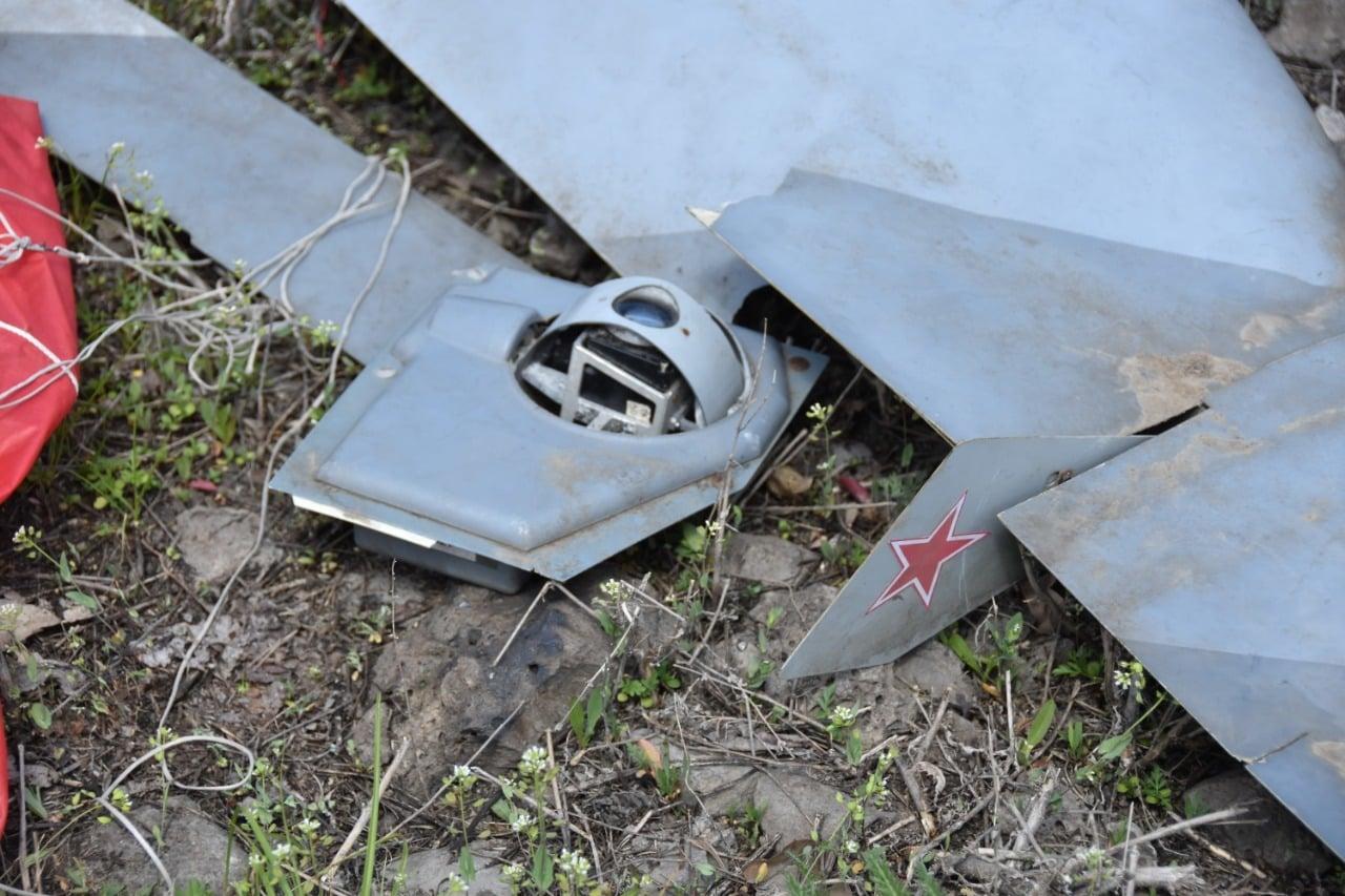 Українські військові збили безпілотники російсько-окупаційних військ