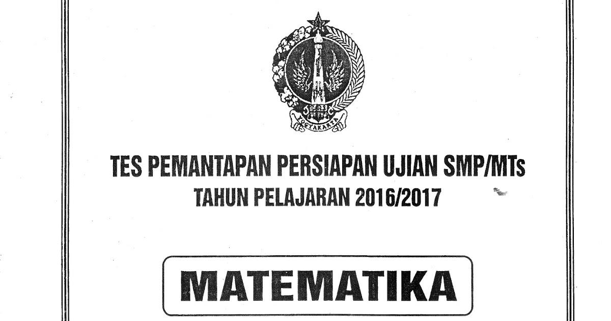 Kunci Jawaban Tppu Diy 2017 Tahap 2 Matematika 7 11 April 2017 Giri Widodo