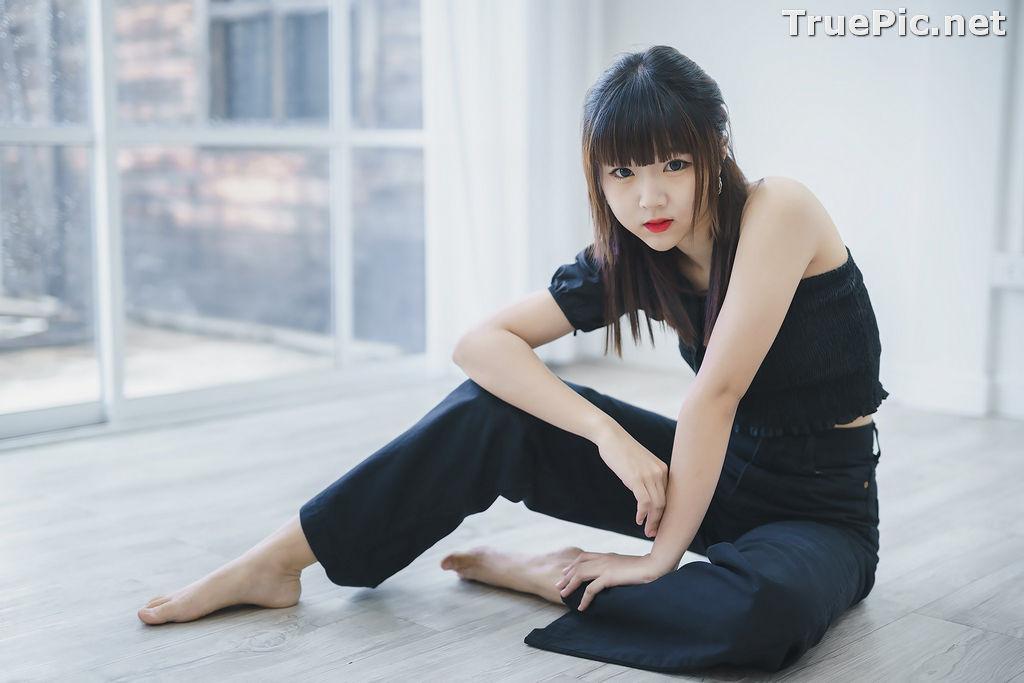Image Thailand Model - Pakkhagee Arkornpattanakul - Cute Girl In Black - TruePic.net - Picture-10