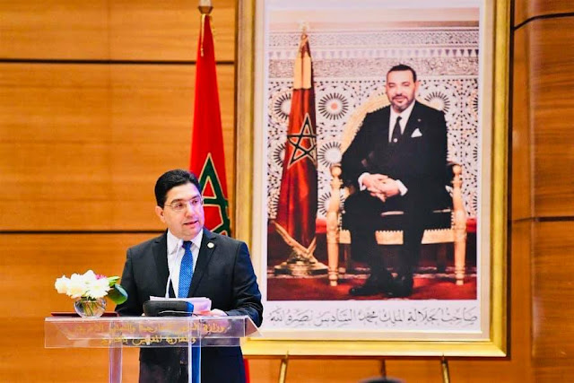 بالصورة.. الوزير بوريطة يؤكد بأن استجابة المغرب في مواجهة جائحة كوفيد-19 كانت مؤطرة برؤية ملكية