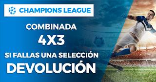 Paston Promoción Champions League: Combinada 4x3 13 febrero