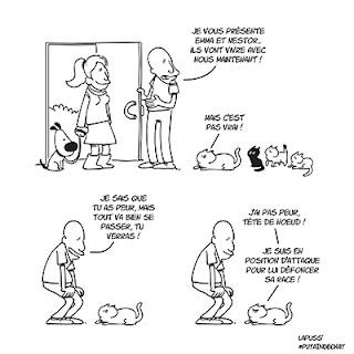 Putain de chat T7 - Nestor le chien, s'invite à la maison