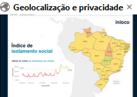 Índice de Isolamento Social (In Loco)