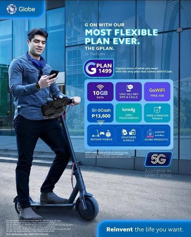 Globe Introduces All-New GCash-Powered GPlans