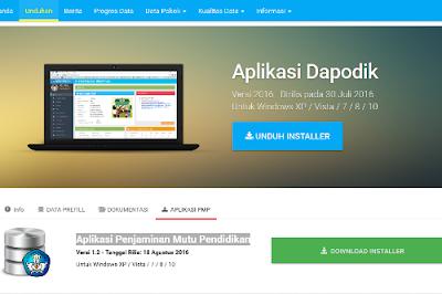 Download Aplikasi Penjaminan Mutu Pendidikan