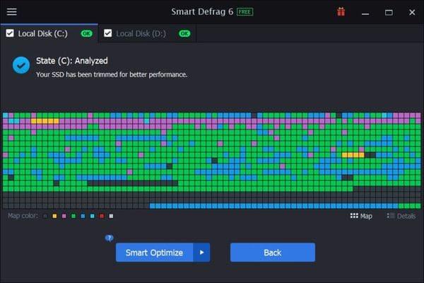 Smart Defrag – Melhor desfragmentador de disco