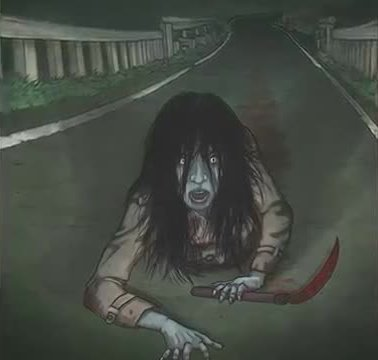 Teke-Teke, scary urban legend, most scary urban legend, scary Japanese urban legend