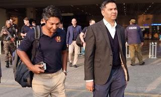 The MCC team reached Lahore under the leadership of Sangakkara