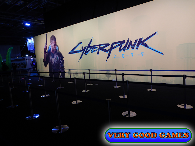 Photo report from the gaming event EGX 2019 in London - the game Cyberpunk 2077