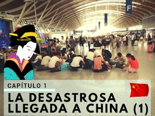 Comenzando el viaje por China