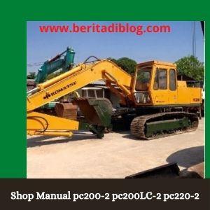 Shop manual pc200-2 pc200lc-2 pc220-2